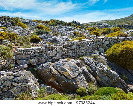 Beautiful Naxos landscape