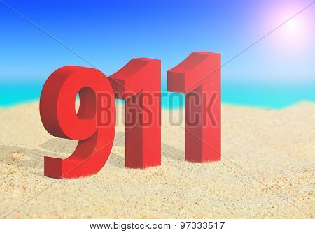 911 Emergency Number On The Beach