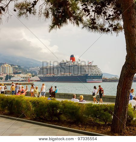 Yalta, Ukraine -  September 21, 2012