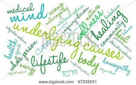 Underlying Causes Word Cloud