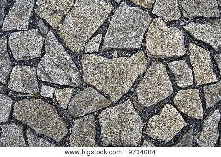 The Pavement Of Granite Stone