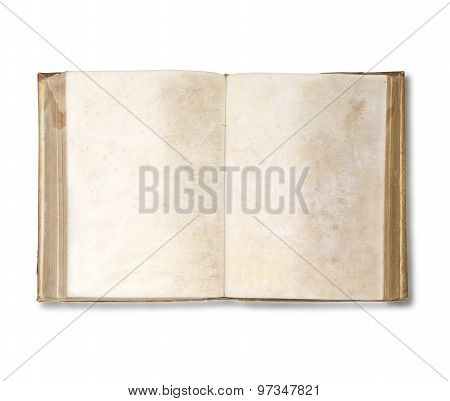 Old Book Open