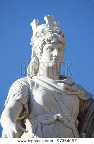 Statue of Freedom in San Marino