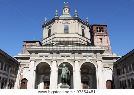 Saint Lawrence Cathedral in Milan