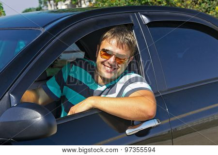 smiling driver