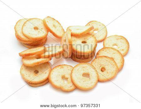 Dry rolls bread