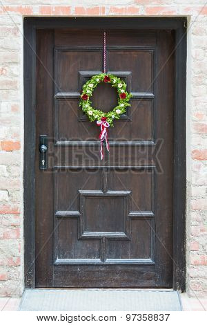 Decorated Bavarian Front Door