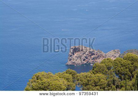 Sa Foradada Rock