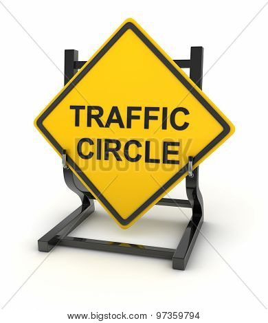 Road Sign - Traffic Circle