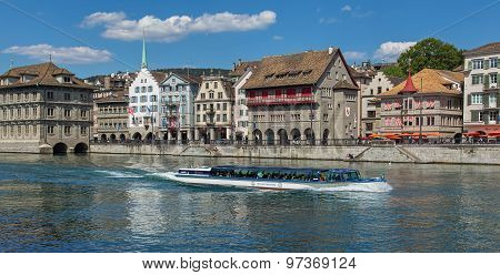 Zurich, The Limmat River