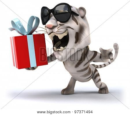 Fun tiger