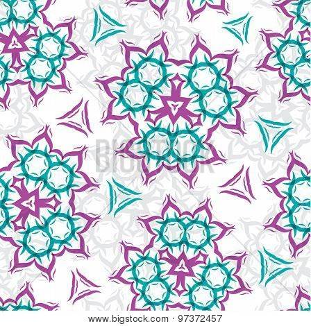 Seamless pattern. Hand drawn seamless pattern from abstract elements . Can be used for  cloth design,web, wallpaper, wrapping