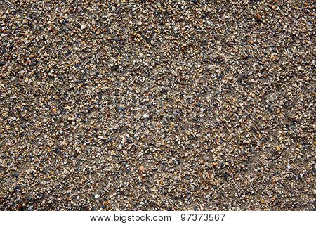 Almeria Cabo de Gata sand texture closeup detail in Spain