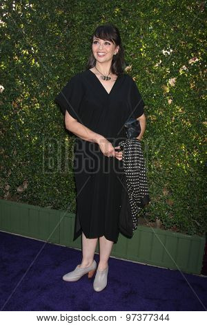 LOS ANGELES - JUL 29:  Sarah Strange at the Hallmark 2015 TCA Summer Press Tour Party at the Private Residence on July 29, 2015 in Beverly Hills, CA