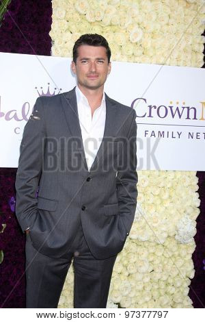 Gavin O'ConnorLOS ANGELES - JUL 29:  Wes Brown at the Hallmark 2015 TCA Summer Press Tour Party at the Private Residence on July 29, 2015 in Beverly Hills, CA