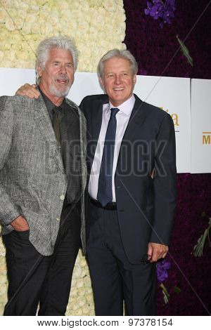 Gavin O'ConnorLOS ANGELES - JUL 29:  Barry Bostwick, Bruce Boxleitner at the Hallmark 2015 TCA Summer Press Tour Party at the Private Residence on July 29, 2015 in Beverly Hills, CA