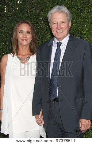 LOS ANGELES - JUL 29:  Verena King, Bruce Boxleitner at the Hallmark 2015 TCA Summer Press Tour Party at the Private Residence on July 29, 2015 in Beverly Hills, CA