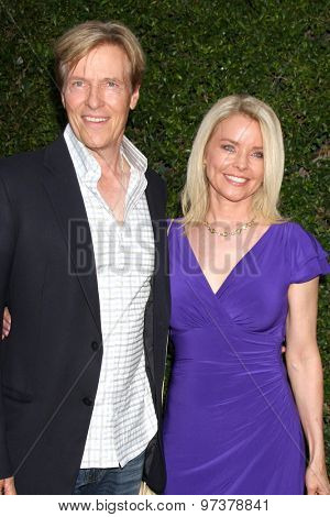 LOS ANGELES - JUL 29:  Jack Wagner, Kristina Wagner at the Hallmark 2015 TCA Summer Press Tour Party at the Private Residence on July 29, 2015 in Beverly Hills, CA