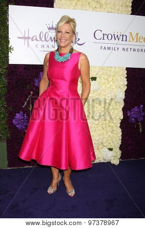LOS ANGELES - JUL 29:  Kym Douglas at the Hallmark 2015 TCA Summer Press Tour Party at the Private Residence on July 29, 2015 in Beverly Hills, CA