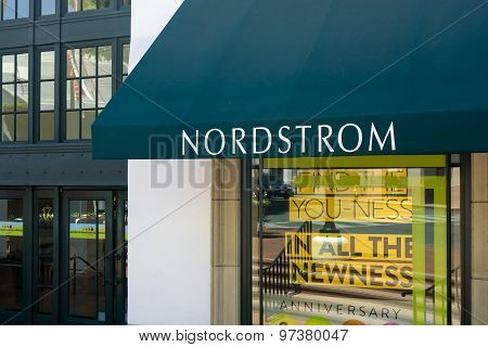 Nordstrom Store And Sign
