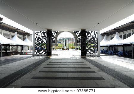 Puncak Alam Mosque at Selangor, Malaysia
