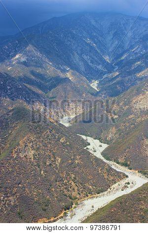 Arid San Gabriel Mtns