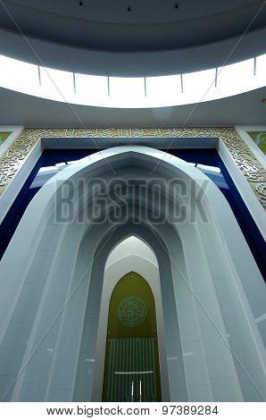 Puncak Alam Mosque at Puncak Alam, Selangor, Malaysia