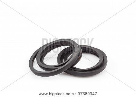 Black Engine Belt Accessories.