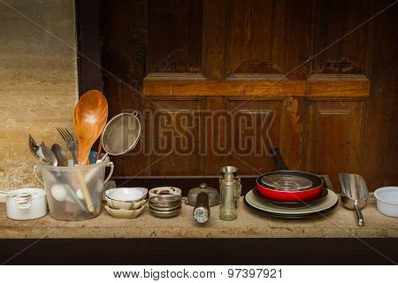 Equipment For Cooking.