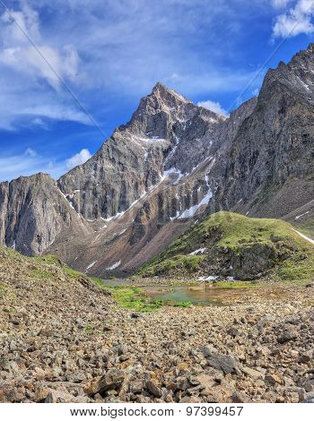 Siberian Alps. Tunka Range. Sayan Mountains.