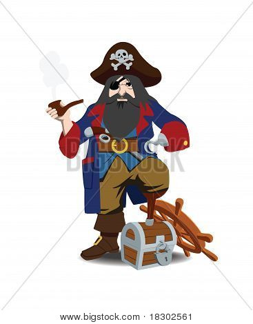 One-legged Pirate