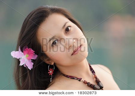 Thai Woman Portrait