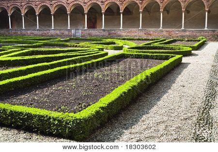Inner Garden Chartreuse Monastery