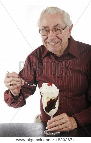 Delighted With Sundae