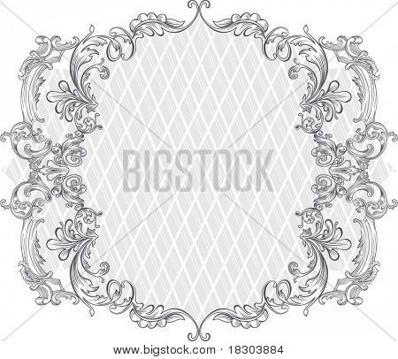 vintage background design - frame
