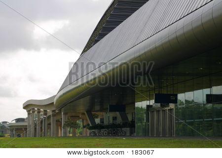 Modern Train Station 03
