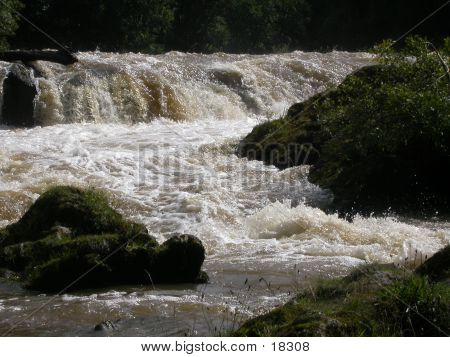 River In Flood 02