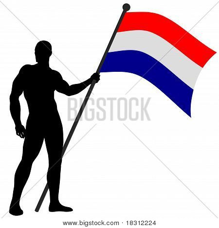 Flag Bearer_Netherlands