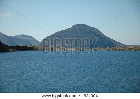 Loch In The Scottish Highlands