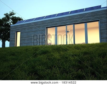 energy saving house