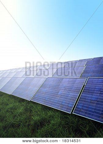 Photovoltaik modules park