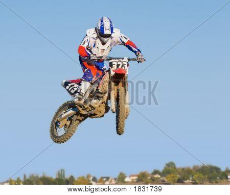 Motocross Motorcycle Jump