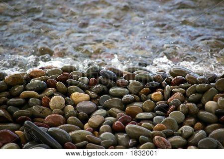 Wet Lake Stones