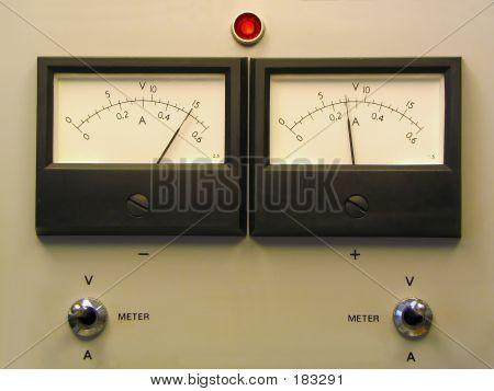Medidores de painel duplo