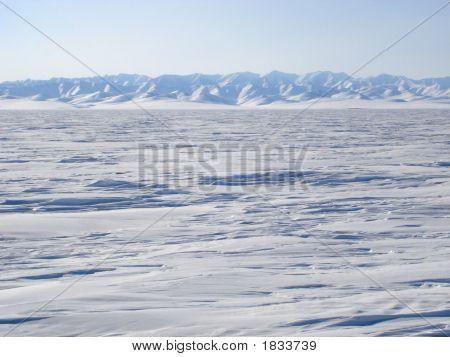 Arctic Mountain Landscape