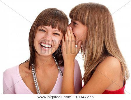mujer le dice a la buena noticia de la novia