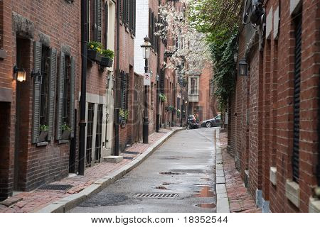 Quaint City Street