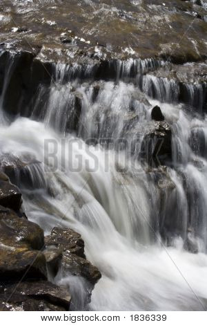 Desenfoque de la cascada