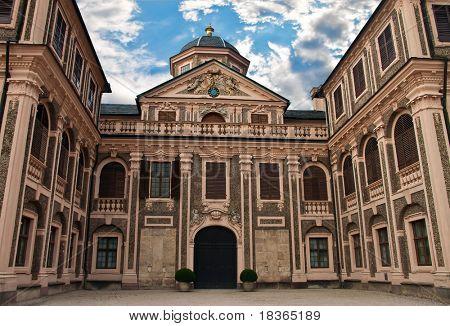 Favorite Castle was built by Johann Michael Ludwig Rohrer 1710 1730 in Rastatt-F�¶rch. Germany.