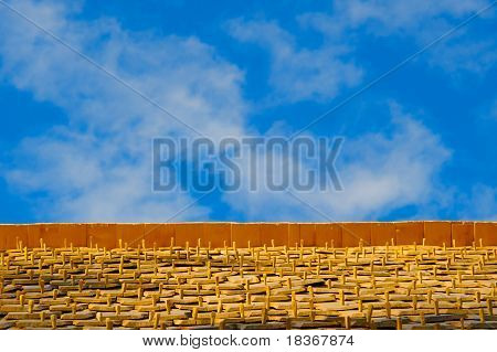 Blue Sky Wood Shingles